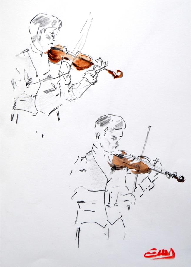 20 - tocando violin