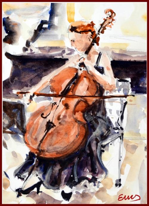 18 - La violoncellista