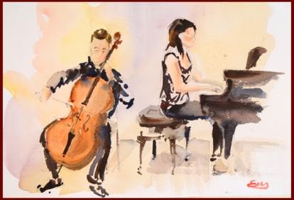 violocello y piano - b