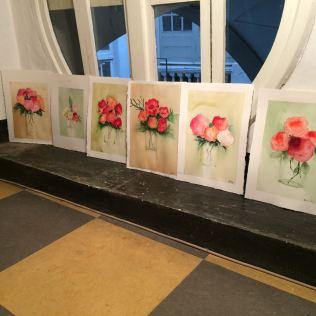 I fiori degli allievi.