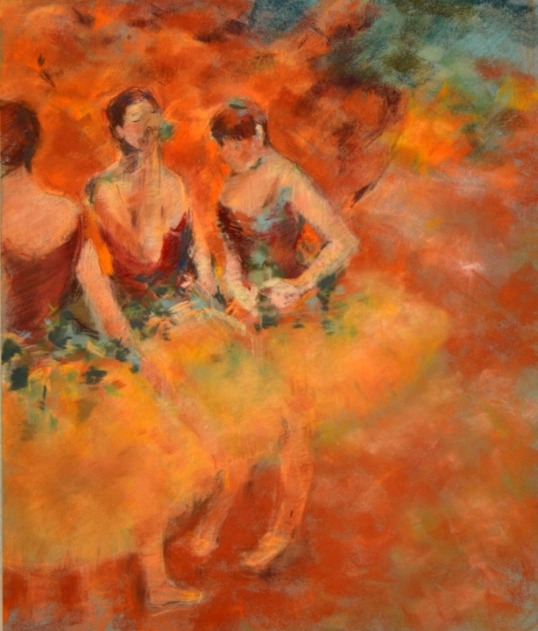 Degas - Learning from the masters - soft pastel