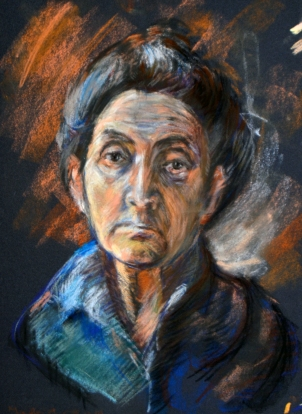 Boccioni - Learning from the masters - Pastel -2016