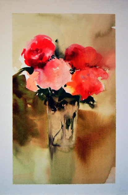 Flores - Watercolour