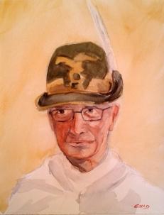 Padre Candido, cappellano degli alpini