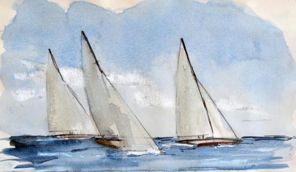 Navigazione - bozzetto -m