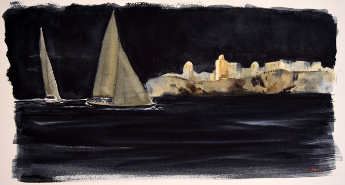 Navigazione notturna - m