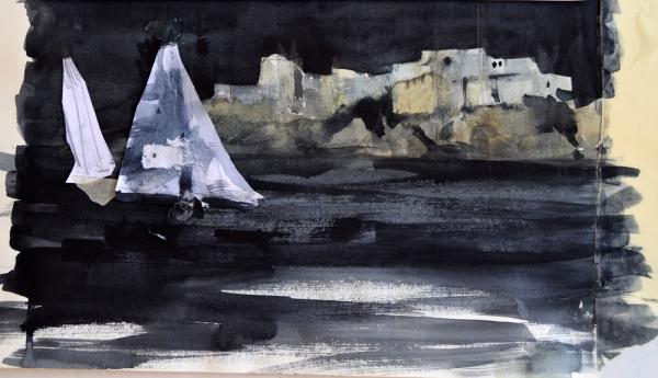 Navigazione notturna studio composizione -m